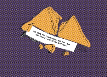 20180210 - Sketch - Fortune Cookies - Cracked Purple