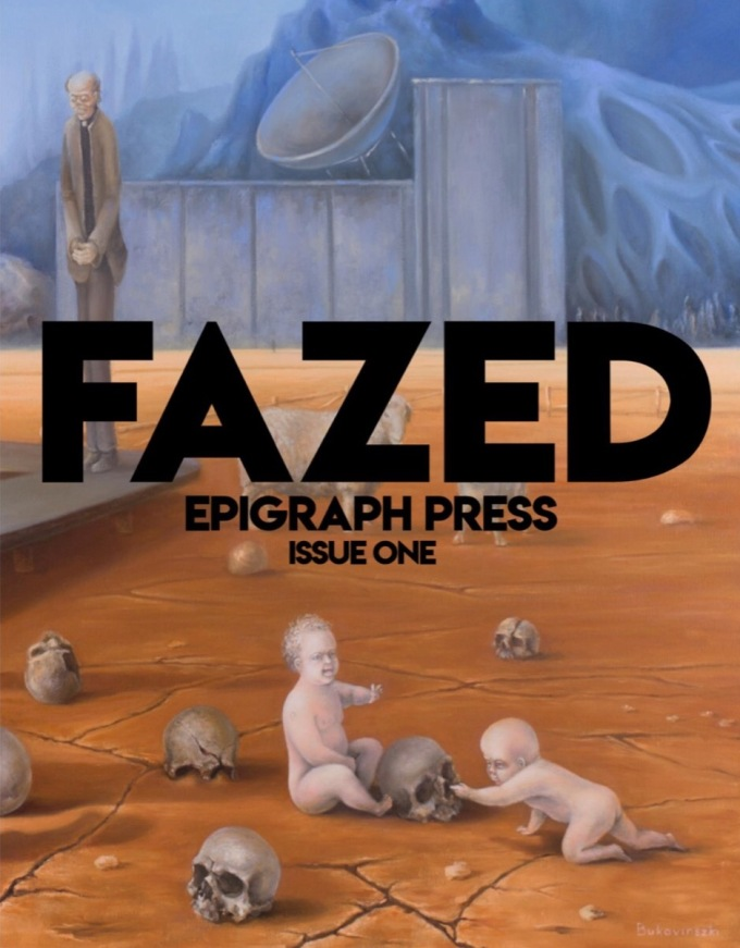 Epigraph Press Issue One FAZED Literary and Art Journal Cover