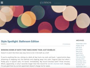 Cennos: Blog Post