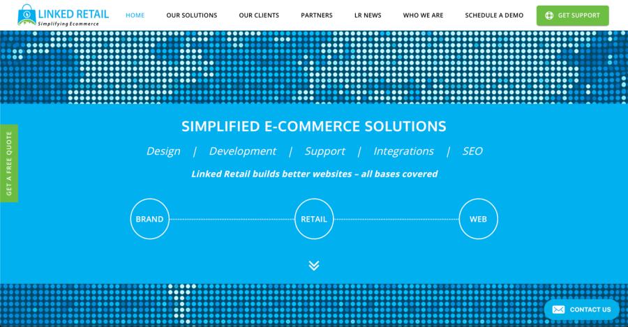 Linked Retail: Landing Page Copy